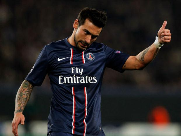 Lavezzi jogará na China (Foto: Getty Images)
