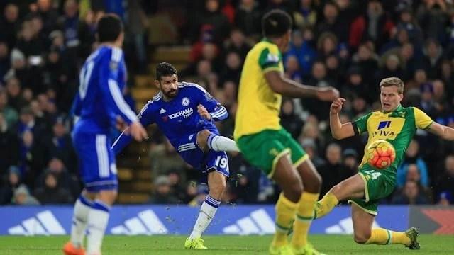 Diego Costa marcou na última partida (Foto: Chelsea FC)