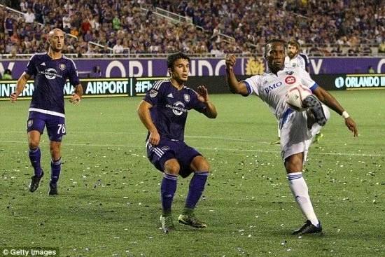 Drogba em ação pela MLS