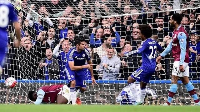 Costa marcou no último confronto entre as equipes (Foto: Chelsea FC)