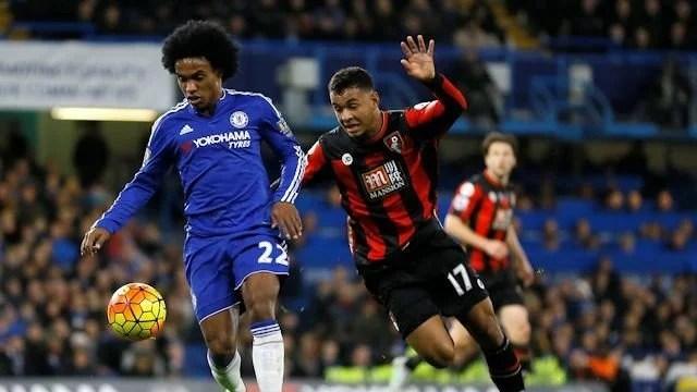 Nem a boa fase de Willian evitou derrota no primeiro turno (Foto: Chelsea FC)