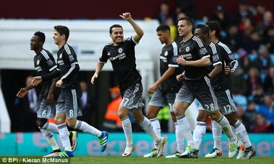 Pedro marcou dois gols no segundo tempo