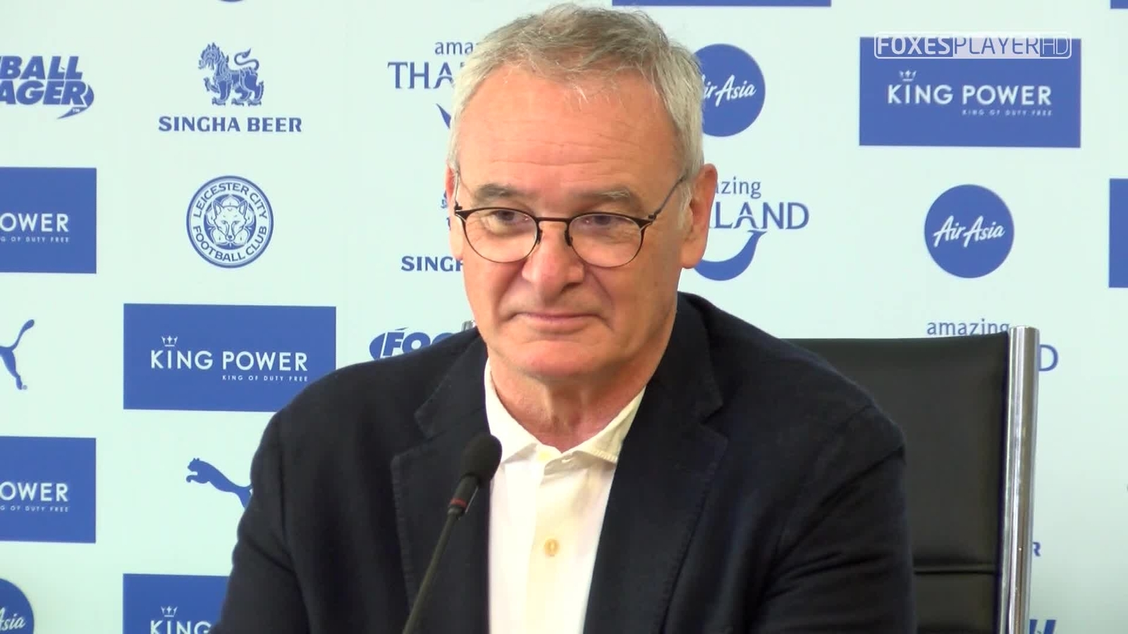 Ranieri espera que seu time se porte como durante toda a temporada (Foto: Leicester City)