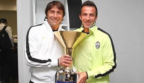 Del Piero acredita em sucesso de Conte (Foto: Getty Images)