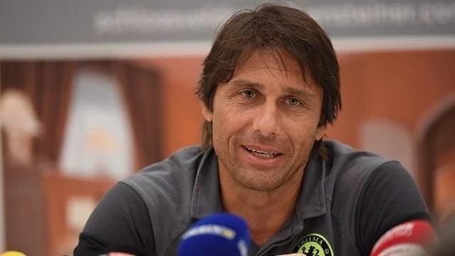 Conte vem otimista para o inicio da temporada ( Foto: ChelseaTV)