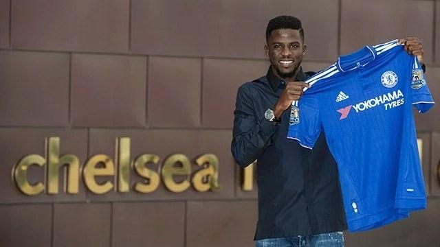 Senegalês em sua apresentação: menos de um ano até deixar o clube com cinco minutos em campo (Foto: Chelsea FC)