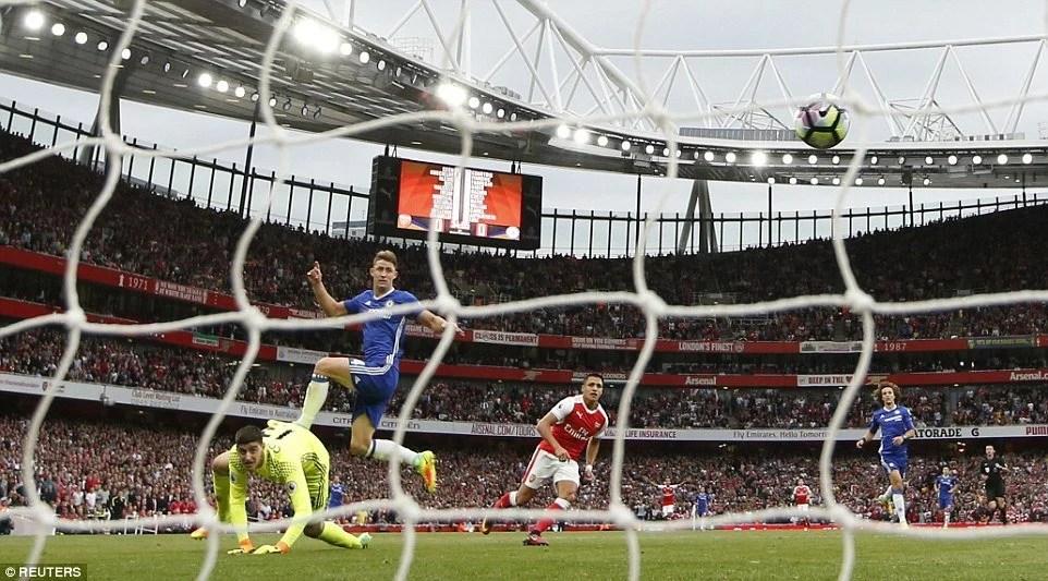 Cahill - Arsenal 3x0 Chelsea - 24/09/2016