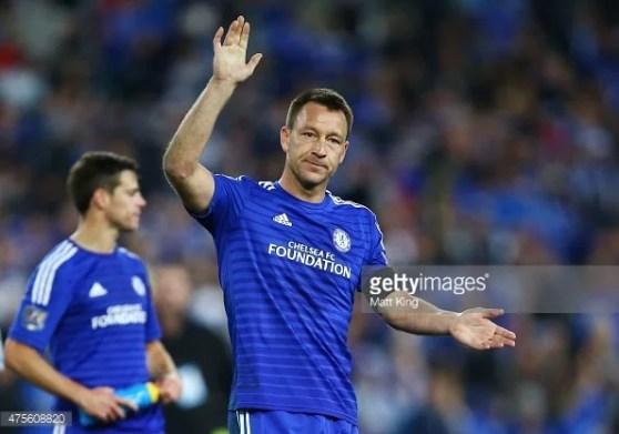 Terry é o capitão mais vitorioso da história dos Blues
