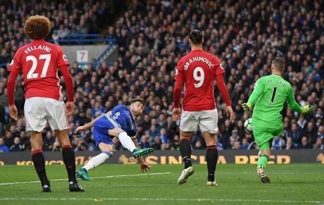 Cahill marca o segundo para os Blues. (Foto: Chelsea FC)
