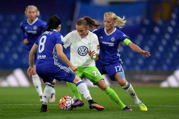 Chelsea Ladies se complicam a podem ser eliminadas da UEFA Women Champions League (Foto: Getty Images)