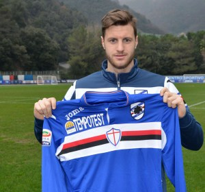 Jacopo Sala assina com a Sampdoria