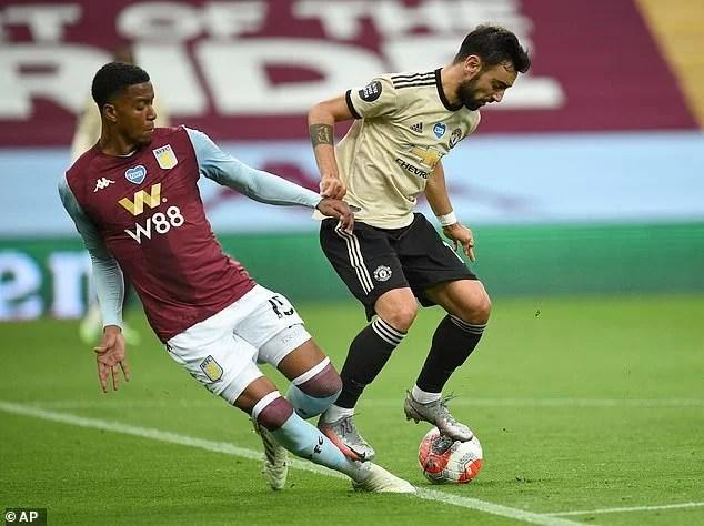Bruno Fernandes cava penalti
