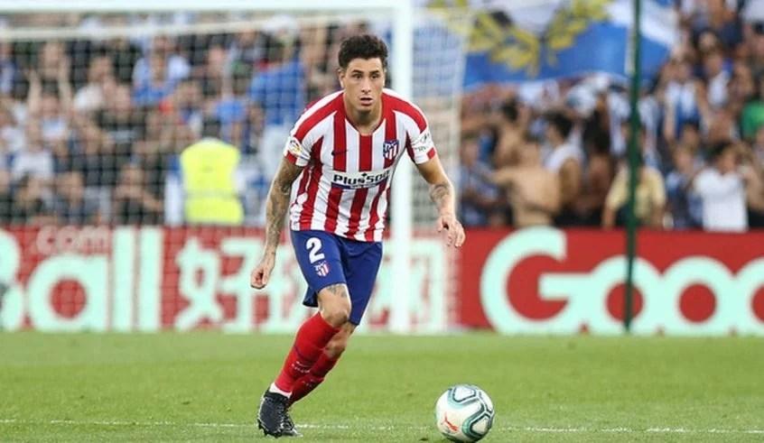 Gimenez joga pelo Atlético de Madrid