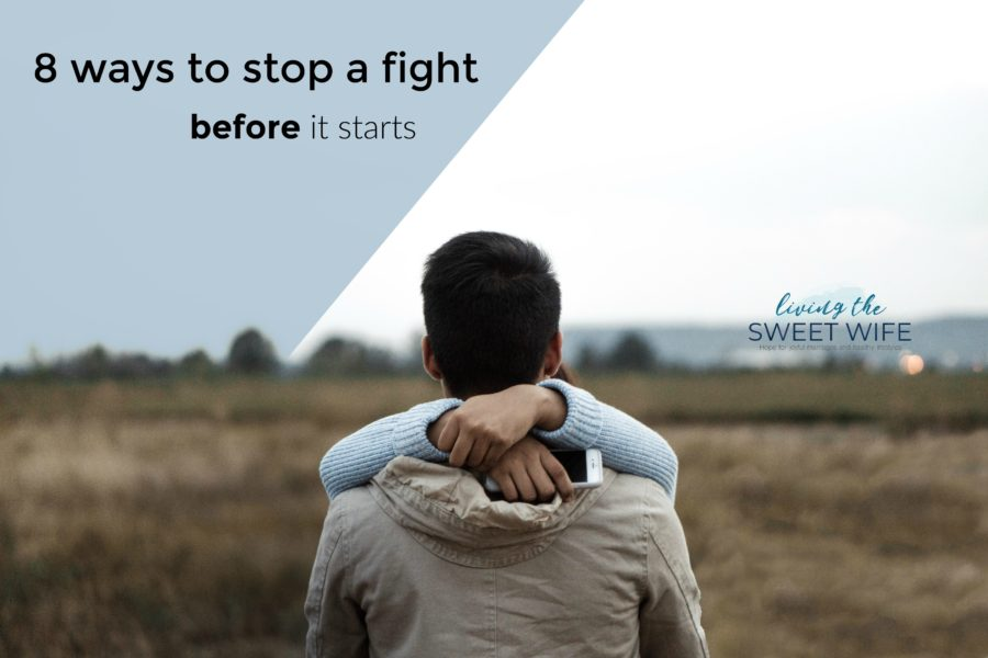 """""""Fighting is always fun,"""" said no one ever. Fights stink. Most of us wish we could avoid them altogether or, at the very lease, stop them before they start. Well, there are a few tips and tricks you can use in your relationship that just might help with that. Keep reading to learn how you can avoid your net big fight and turn it into an open talk with your spouse or significant other!"""