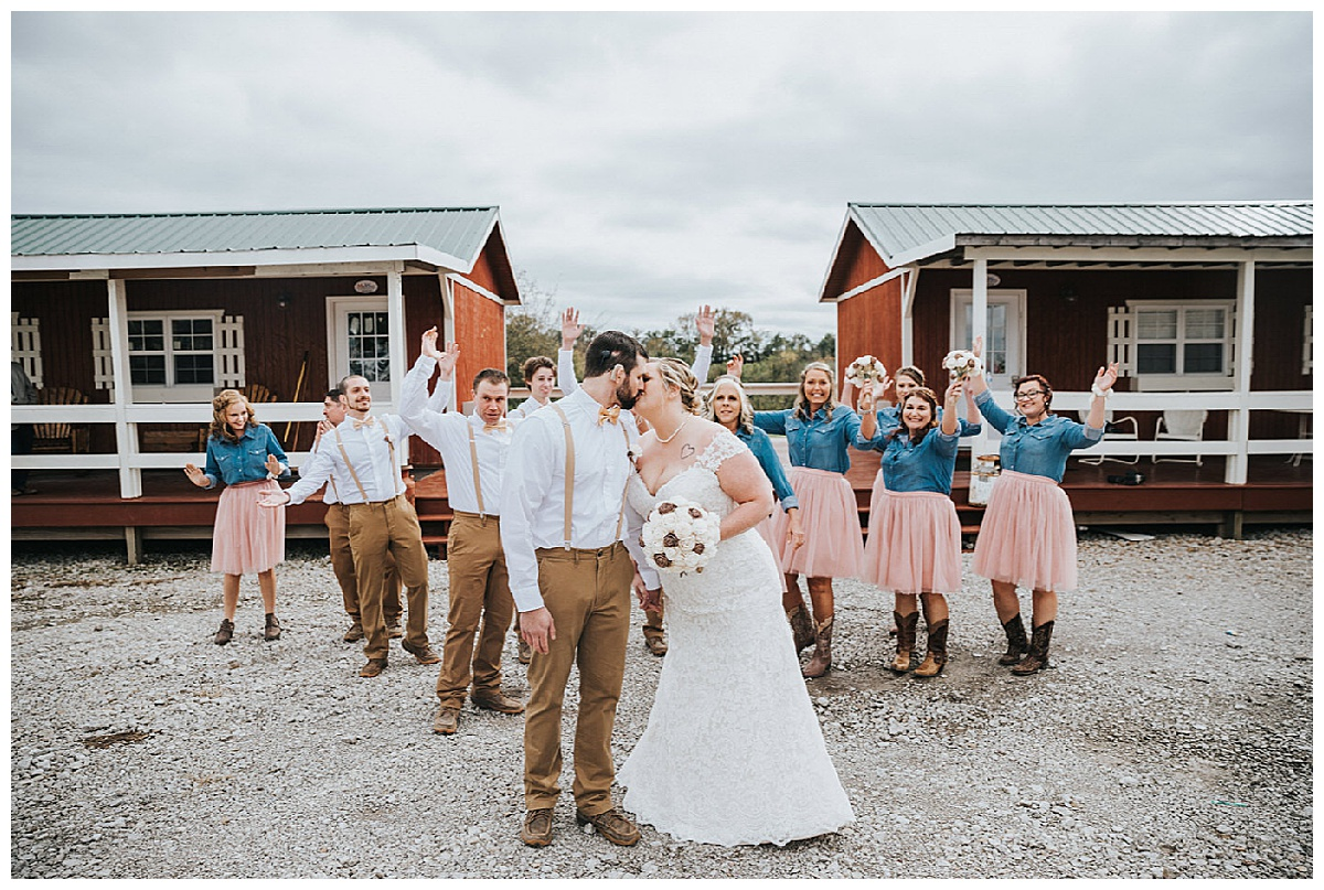 Their Wedding at Bessie's Barn - What's Not to Love?