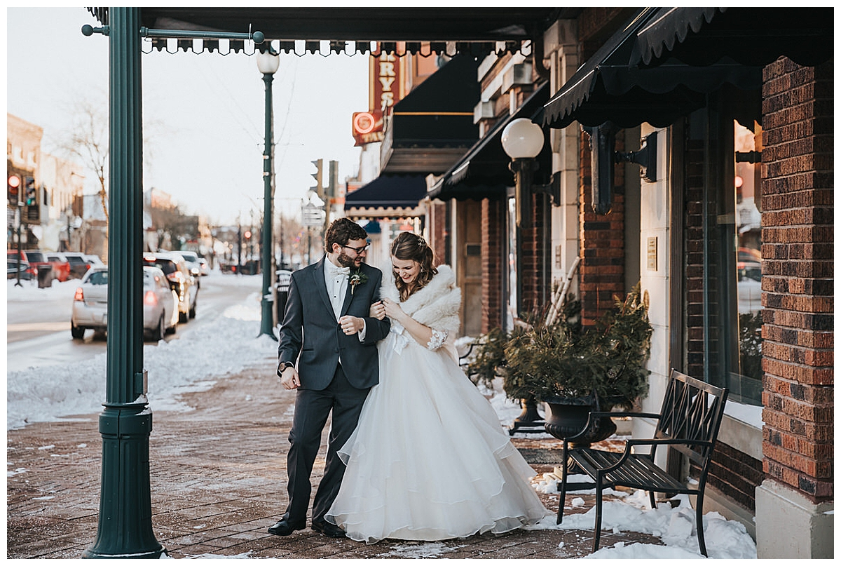 Wedding at Cedar Falls Women's Club
