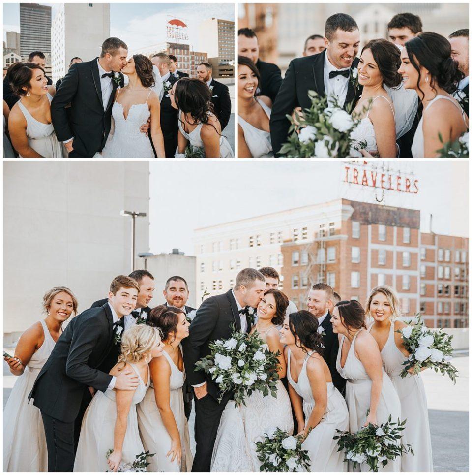 Travelers Sign Des Moines Wedding Photos