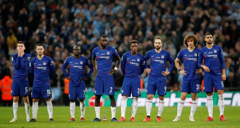 Chelsea squad 2018/19