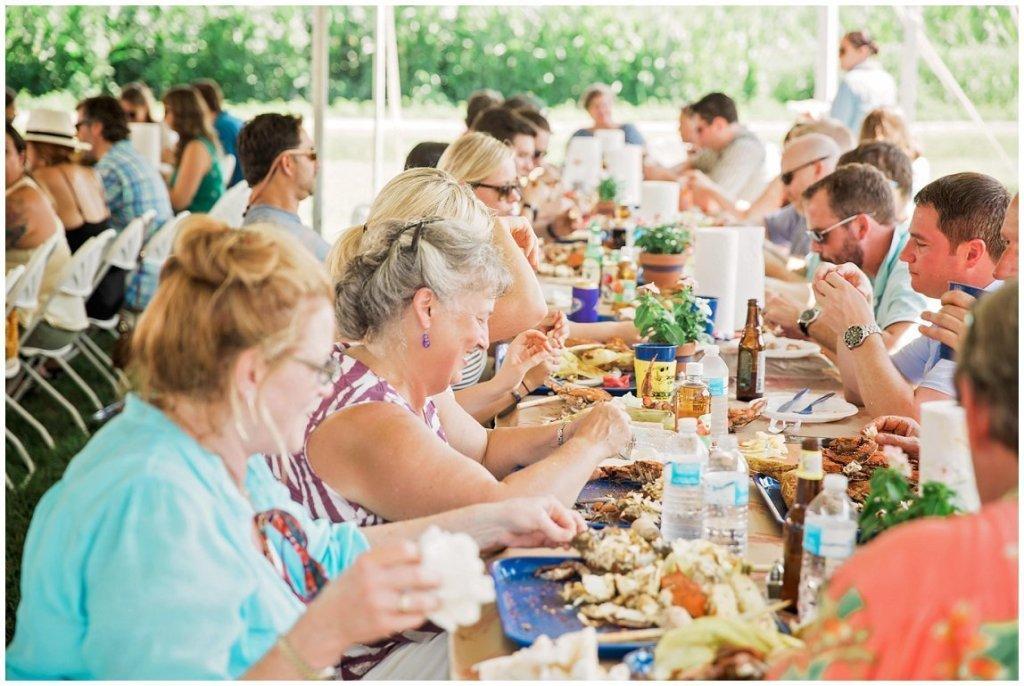 Maryland crab feast