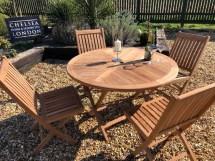 teak garden furniture folding table