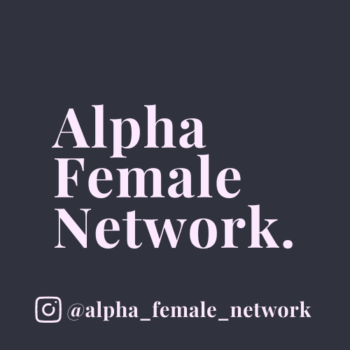 Let's support each other! – The Alpha Female Network