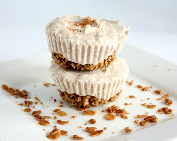 Cinnamon Roll Frozen Yogurt Cupcakes 3
