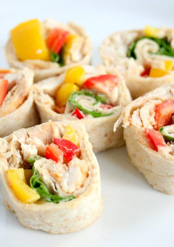 Hummus Pinwheels