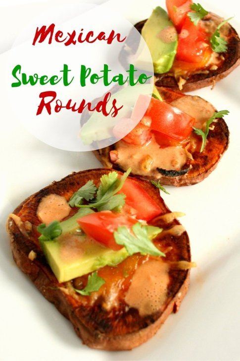 Mexican Sweet Potato Rounds Pin