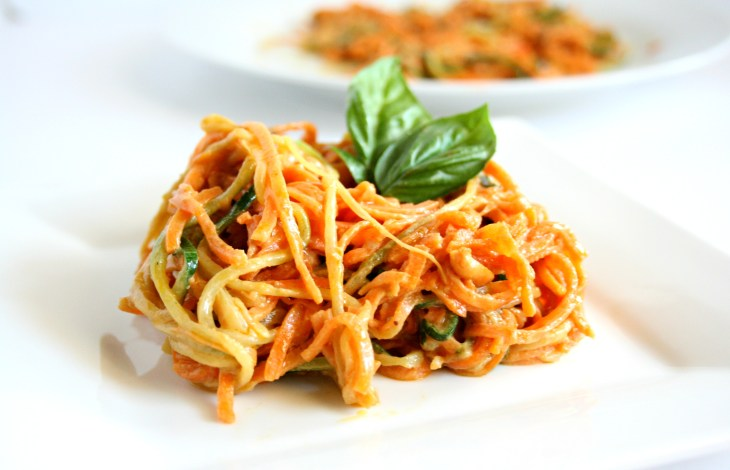 Sweet Potato Zoodle Pad Thai