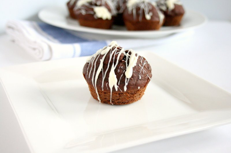 Looking for breakfast on the go or a dessert that won't erase your workout? Look no further! These Chocolate Protein Muffins are the perfect treat to satisfy your chocolate cravings!