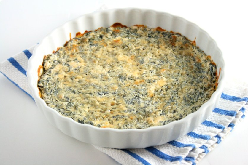 'Tis the season for holiday parties, cookie exchanges, and family gatherings. Try my skinny spinach dip to save a couple calories this holiday season.