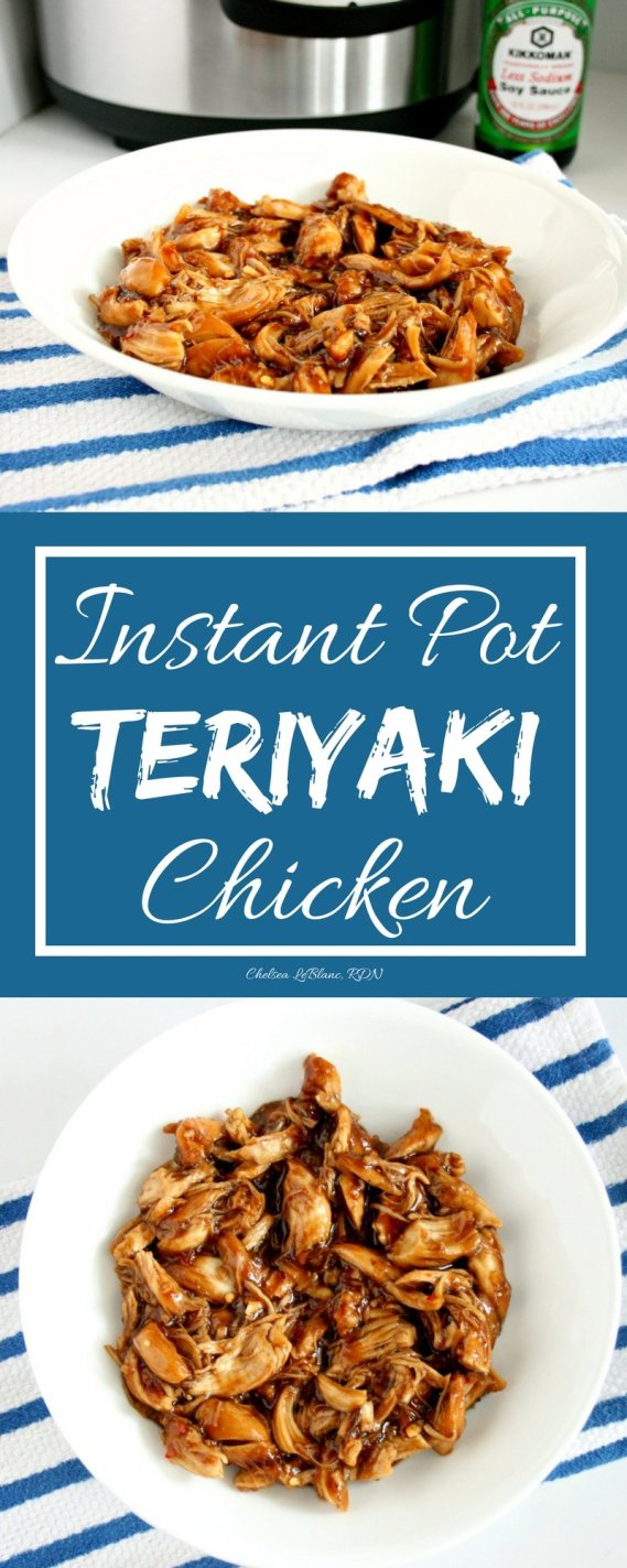 Is it possible to have chicken teriyaki ready in under 10 minutes? Yes it is! My Instant Pot Chicken Teriyaki takes only 5 minutes to prepare and 5 minutes to cook! Serve with broccoli, over a bed of rice/ quinoa, or on a flat bread.
