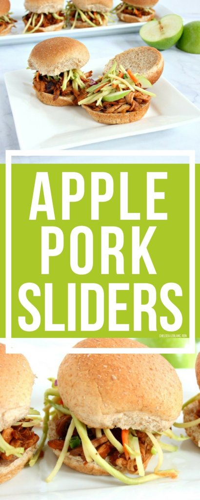 #AD Fall is almost here! The weather is cooling down, football has kicked off, and pumpkins are everywhere. Dust off that slow cooker and try my slow cooker apple pork sliders recipe. This delicious dish is perfect for all of those Fall festivities.