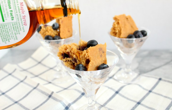 Instant Pot Blueberry Pancake Cups