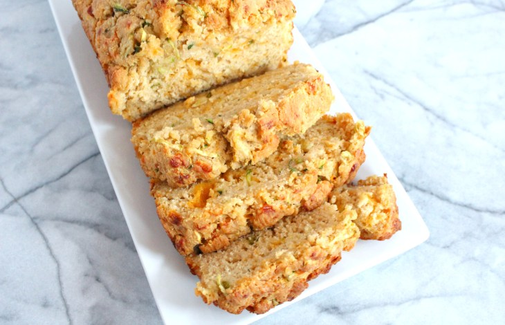 Cheddar Cheese Zucchini Beer Bread