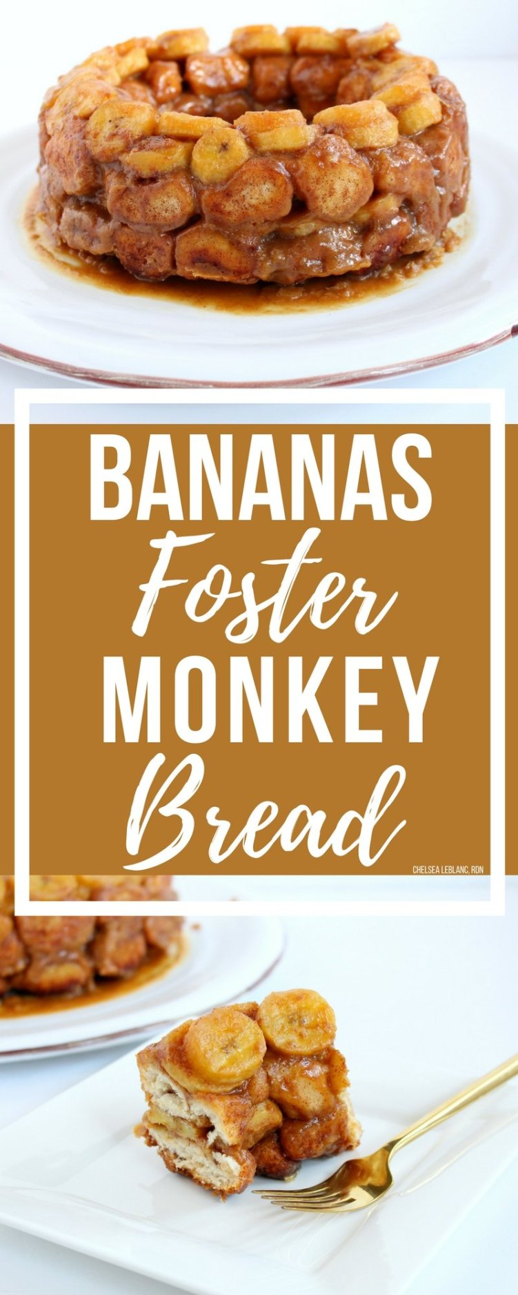 #AD Sweet, ooey gooey, monkey bread gets a Cajun twist with my lightened-up Bananas Foster Monkey Bread. This decadent treat is complete with a bourbon caramel sauce that will have you thinking you're in the French Quarter!