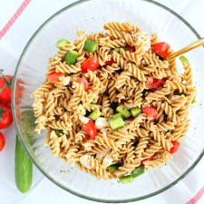 Easy Whole Wheat Pasta Salad