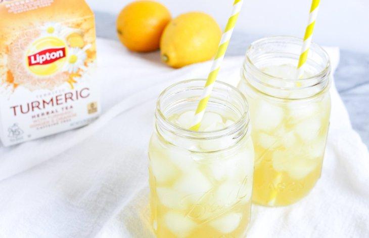 Turmeric Iced Tea Lemonade