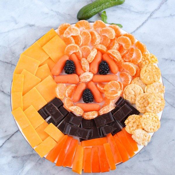 Easy Halloween Snack Board