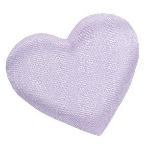 Purple Satin Heart