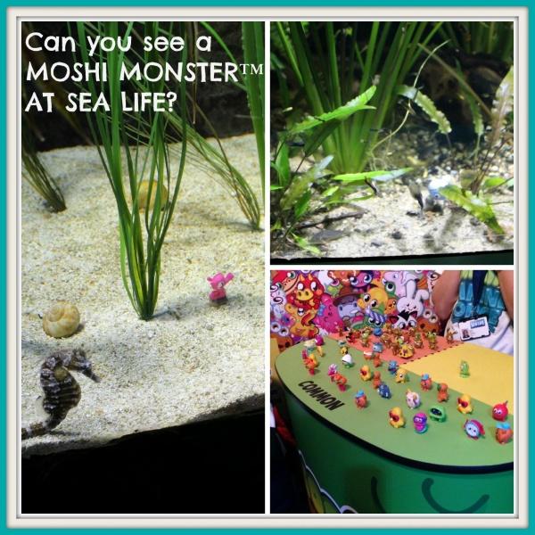 MOSHI MONSTERS™ AT SEA LIFE