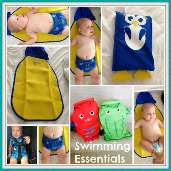 Swimming with Baby Essentials