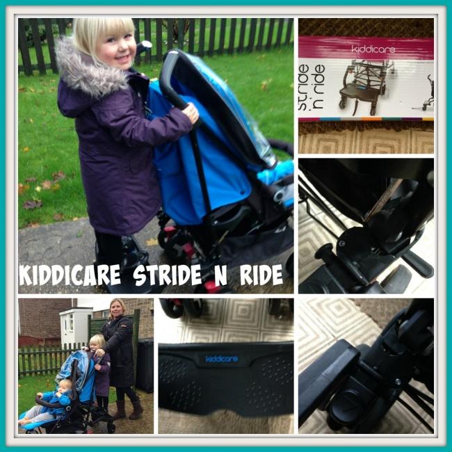 Kiddicare Stride N Ride Buggyboard Review
