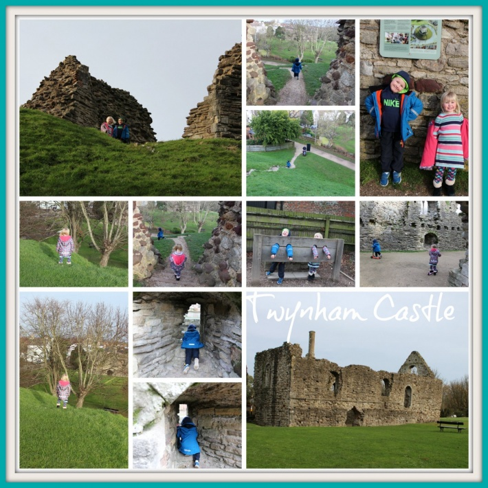 Twynham Castle Ruins