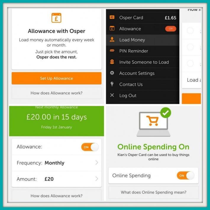 Osper Card App