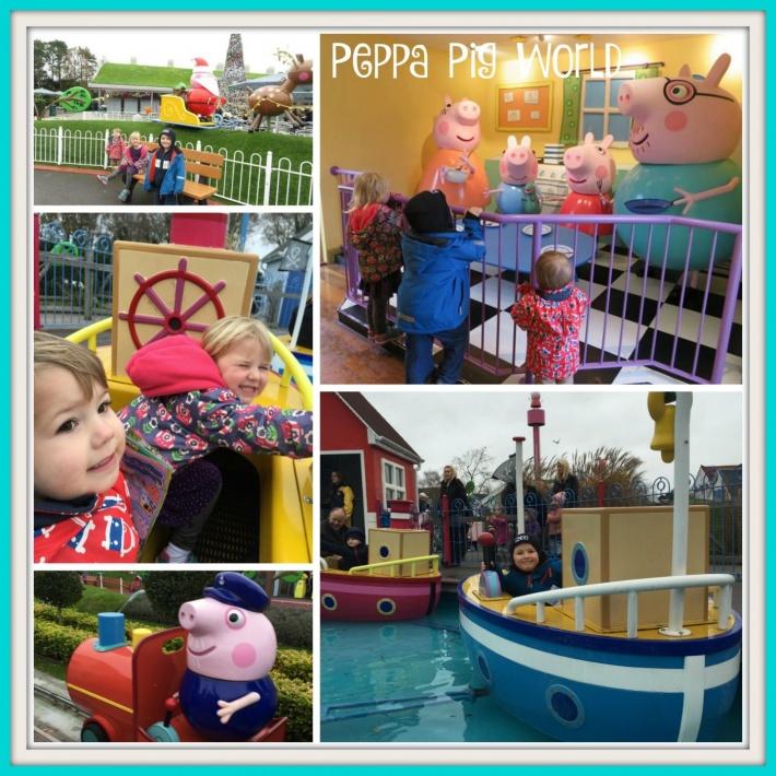 Christmas Fun At Peppa Pig World