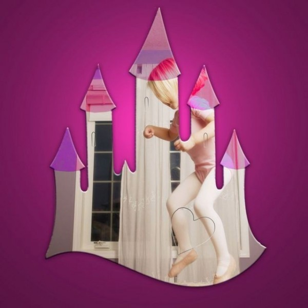 Girls Castle Mirror