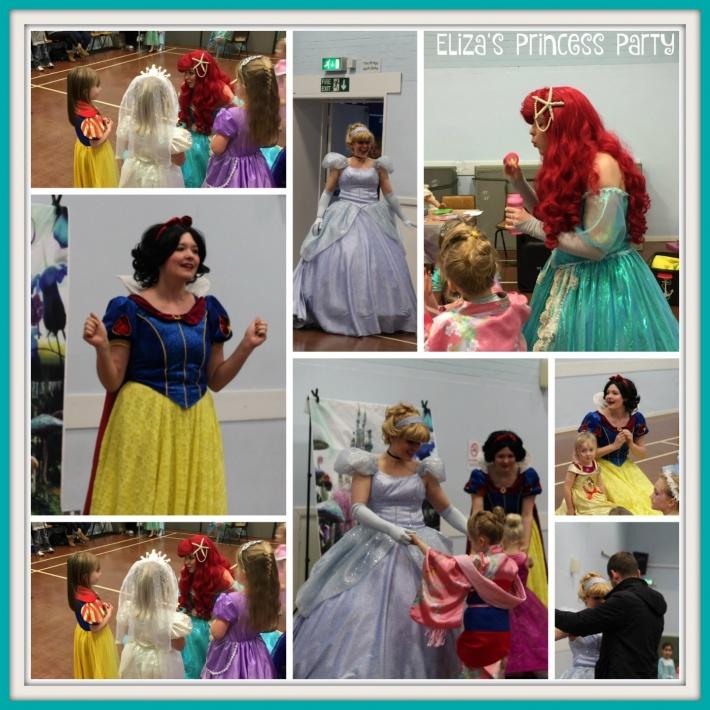 Eliza's Princess Party