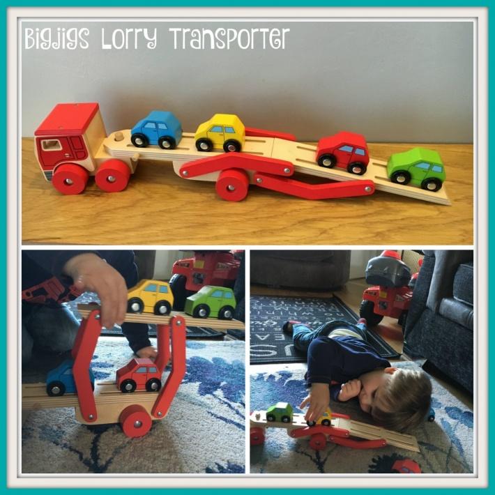 Bigjigs Lorry Transporter