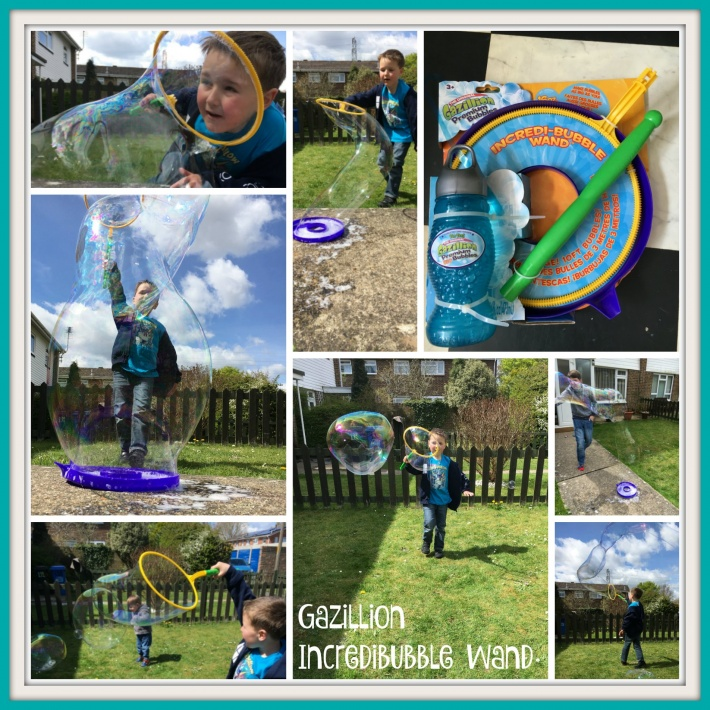 Gazillion Incredibubble Wand